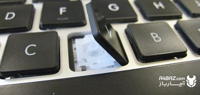 شکستن دکمه کیبورد
