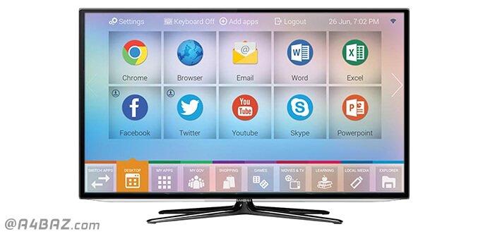 نصب نرم افزار در تلویزیون هوشمند