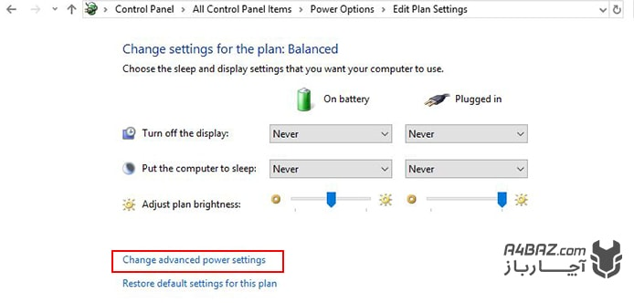 تعویض باتری لپ تاپ