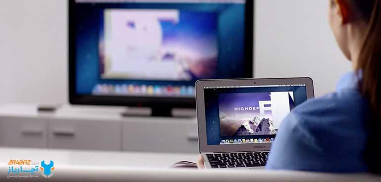 اتصال لپ تاپ به تلویزیون با وایرلس