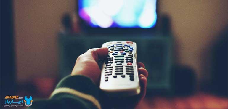 تست ریموت کنترل تلویزیون
