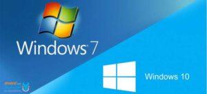 بازگشت از ویندوز 10 به ویندوز 8 یا 7