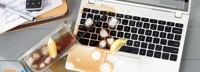 چگونه لپ تاپ را از آسیب مایعات نجات دهیم؟