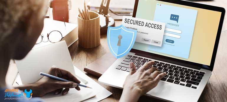 حفظ امنیت پسورد و اطلاعات