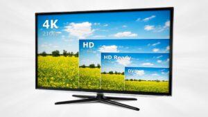 انواع کیفیت در راهنمای خرید تلویزیون