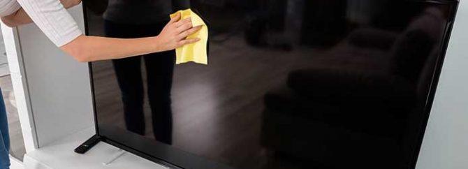 نکاتی جهت نگهداری و استفاده صحیح از تلویزیون