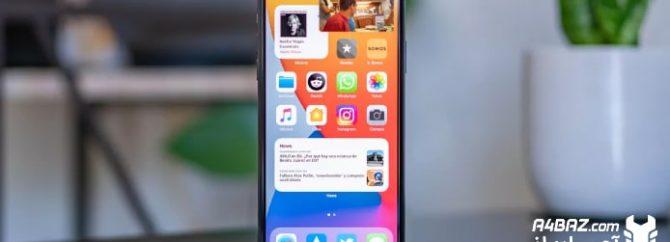 مهمترین مشکلات گوشی های موبایل آیفون