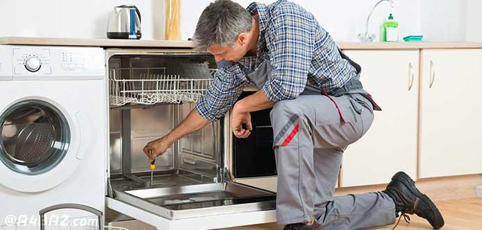 تعمیر ماشین ظرفشویی در محل