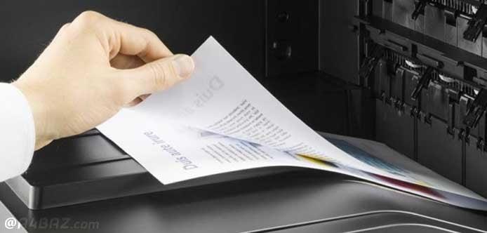 پرینت فایلهای Word و PDF