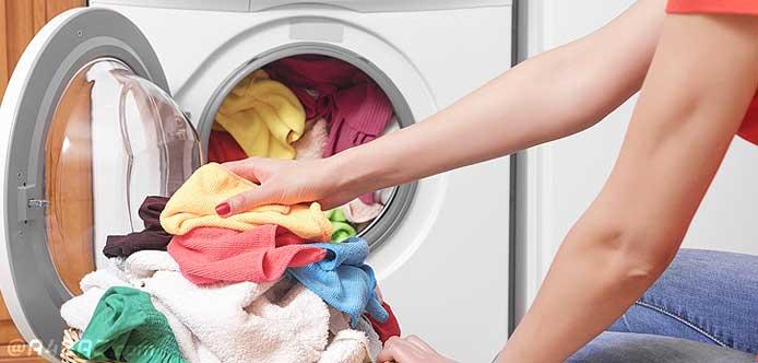 رفع مشکلات ماشین لباسشویی
