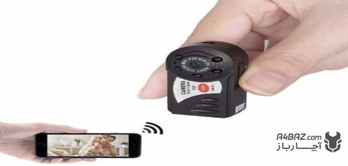 اندازه دوربین مدار بسته مخفی