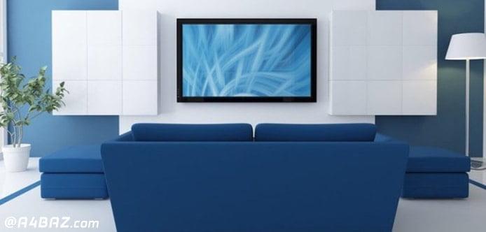 نصب تلویزیون های پلاسما روی دیوار