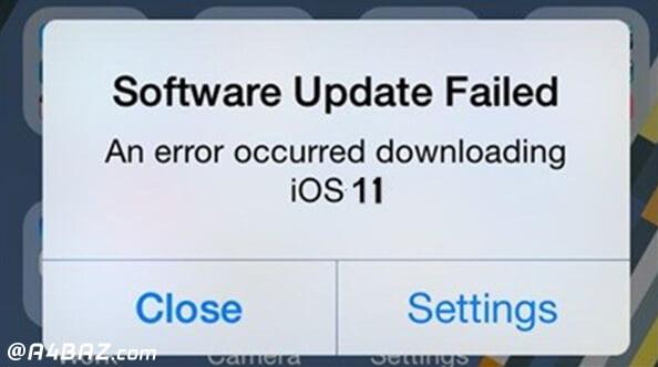 مشکلات رایج تبلت اپل