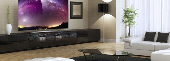 تکنولوژی تلویزیون های منحنی