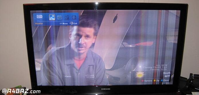 خرابی تلویزیون ال سی دی