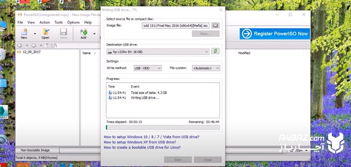 مرحله نهم نصب ویندوز روی تبلت اچ پی