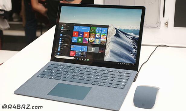 مشکلات نرم افزاری لپ تاپ مایکروسافت