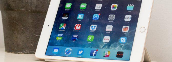 مشکلات نرم افزاری تبلت اپل