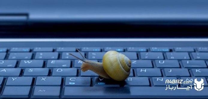 علت کند کار کردن لپ تاپ ASUS