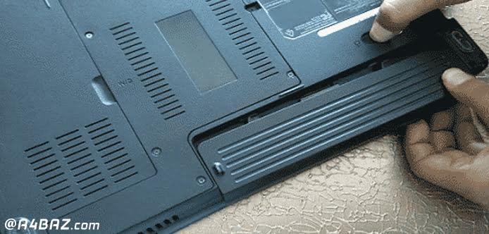 شارژ نشدن باتری لپ تاپ