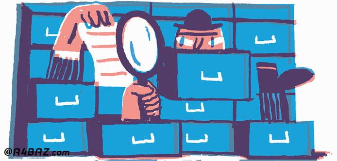 مخفی کردن فایل های شخصی