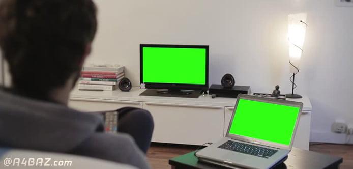 اتصال بی سیم لپ تاپ به تلویزیون