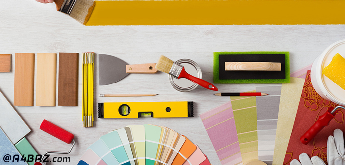 رنگ مناسب برای نقاشی ساختمان