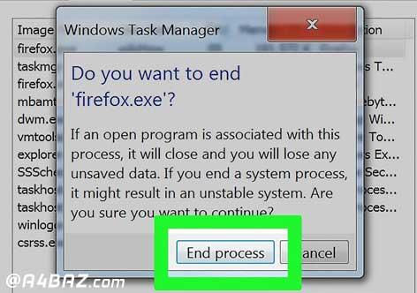 مشکلات CPU کامپیوتر