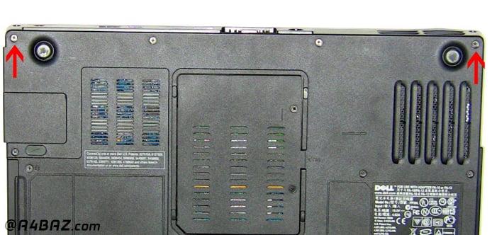 صفحه نمایش لپ تاپ Dell Inspiron 640