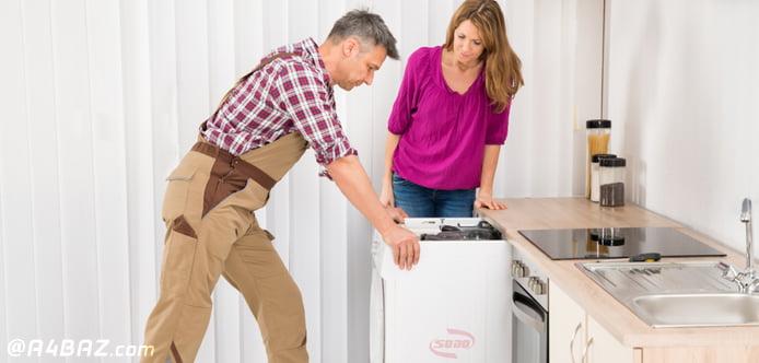 حمل و جابه جایی ماشین لباسشویی