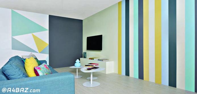 انتخاب رنگ برای رنگ آمیزی خانه