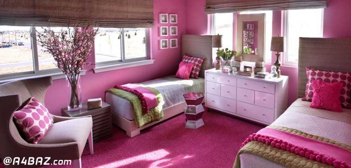 اصول رنگ آمیزی اتاق خواب