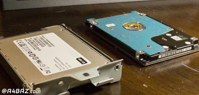 مقایسه هارد درایو های SSD و HDD