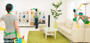 چک لیست نظافت منزل
