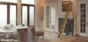 نقاشی و رنگ آمیزی خانه