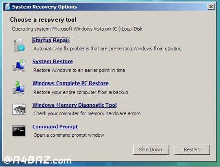 مشکل Bootmgr کامپیوتر