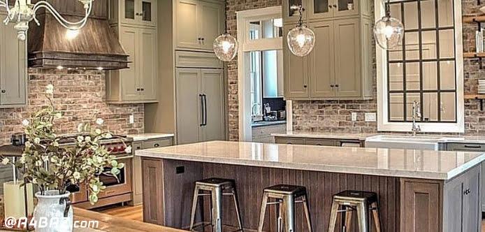 آشپزخانه ای مرتب و تمیز