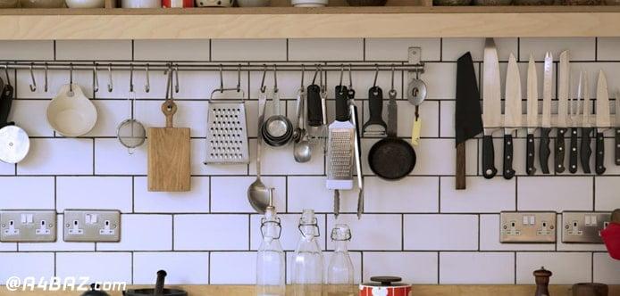 راه تمیز کردن آشپزخانه کثیف