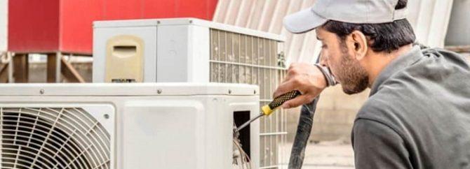 علت داغ شدن کمپرسور کولر گازی چیست؟
