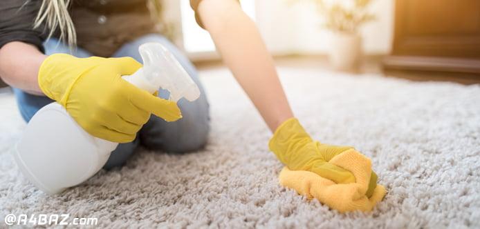 روش شستن فرش در خانه