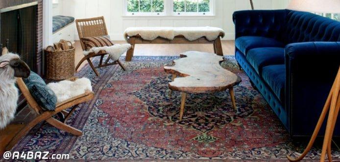 شستن فرش در خانه و از بین بردن زردی فرش