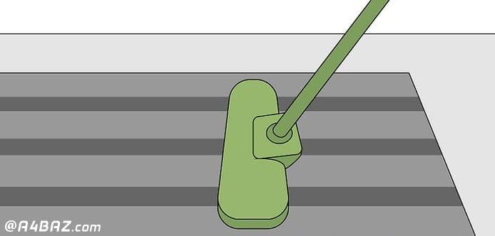 از بین بردن بوی بد فرش با روش های شستن خانگی