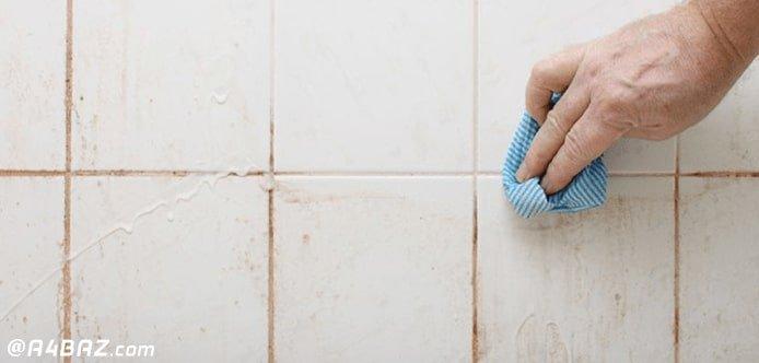 تمیز کردن درز کاشی و سرامیک