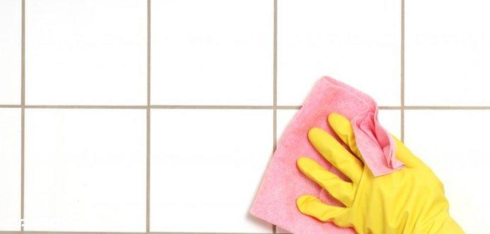 پاک کردن گچ از روی سرامیک
