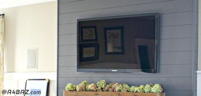 روش نصب تلویزیون روی دیوار
