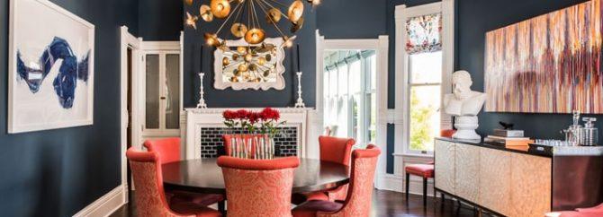 انتخاب رنگ مناسب برای پذیرایی منزل