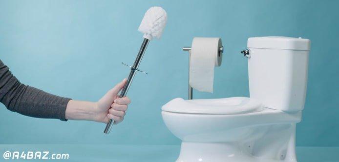 برق انداختن سنگ توالت