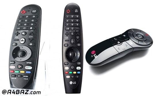 انواع کنترل تلویزیون اسمارت