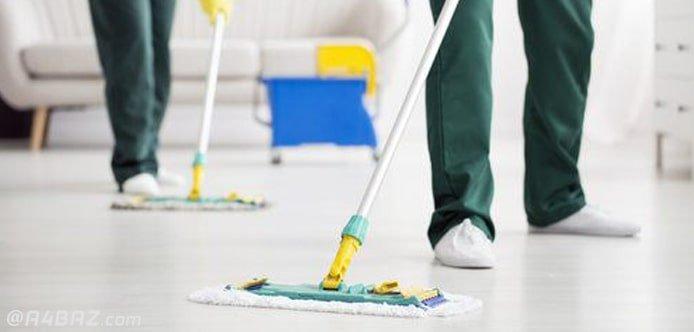 خدمات نظافت منزل