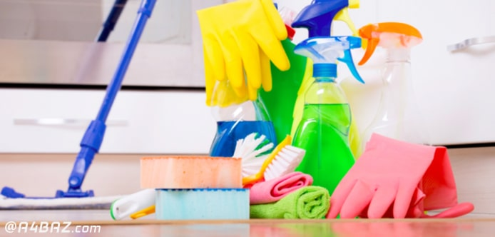وسایل تمیز کردن خانه